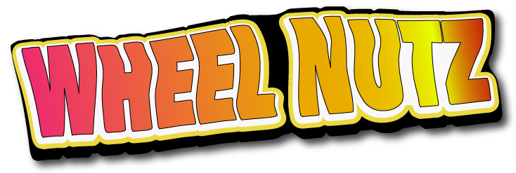 Wheel Nutz logo for disability related cartoon strips